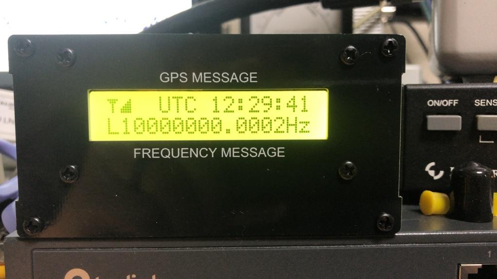 外部アンテナ+GPSDO