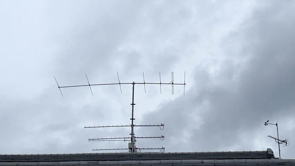 6mのアンテナ