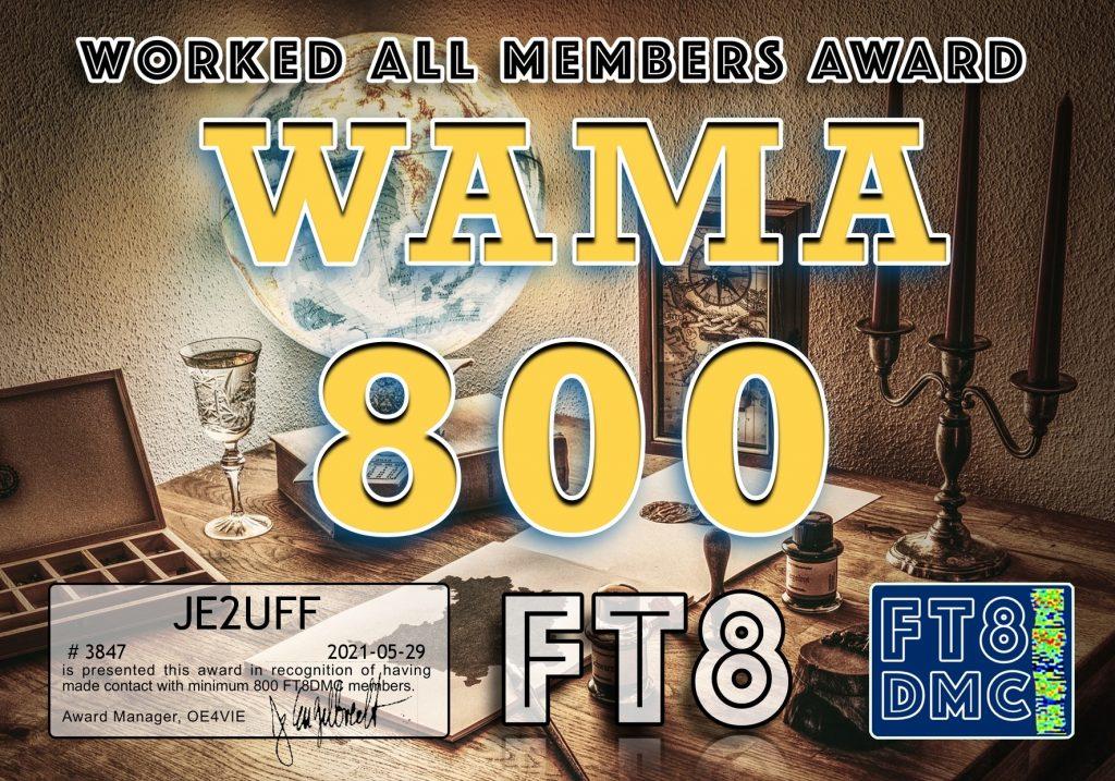 WAMA-800