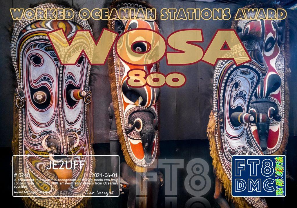 WOSA-800